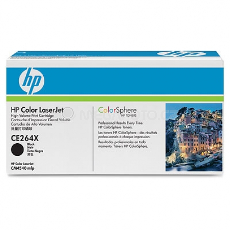 HP Toner BK CE264X