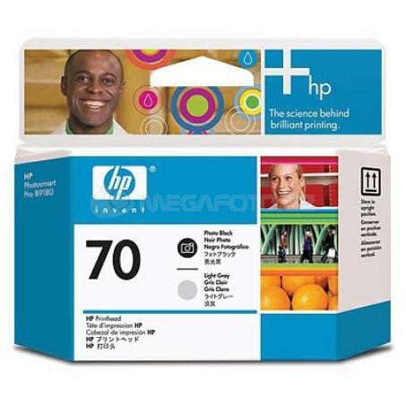 HP Nr.70 Printhead BK + GR C9407A