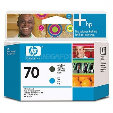 HP Nr.70 Printhead BK + CY C9404A