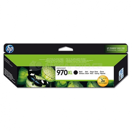 HP CN625AE cartridge black No. 970 XL