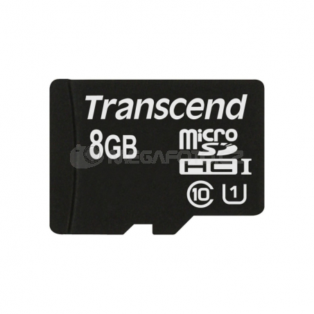 Transcend MicroSDHC Card 8GB + Adapter / Class 10 UHS-I
