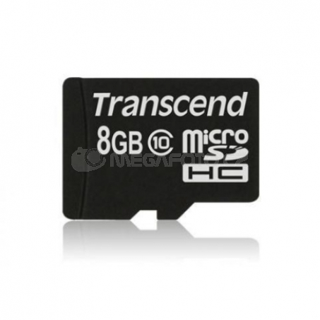 Transcend MicroSDHC Card 8GB + Adapter / 600x Class 10 UHS-I MLC