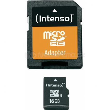 Intenso microSD 16GB 5/21 Class 4 + Adapter