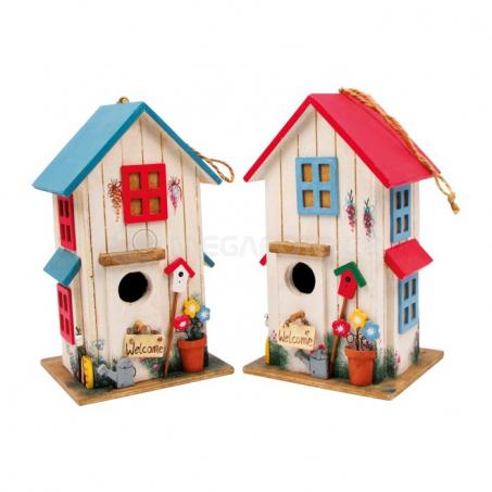 Ptačí budka - rezidence pro ptáky, sada 2 kusy