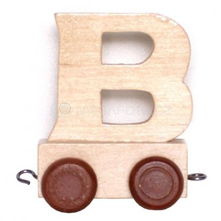 Písmenko vláček B