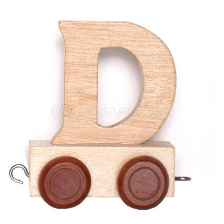Písmenko vláček D