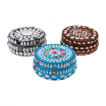 Ozdobné dózy na šperky, sada 3 kusy