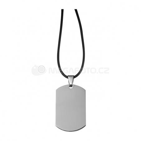 Náhrdelník s ocelovým přívěskem