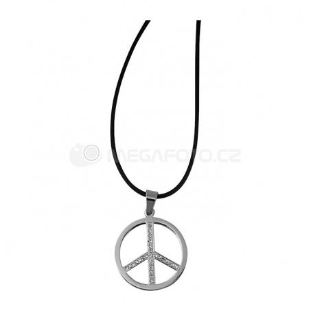 Náhrdelník s přívěskem - Peace