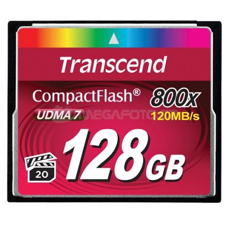 Transcend CF 128GB 60/120 CF800X