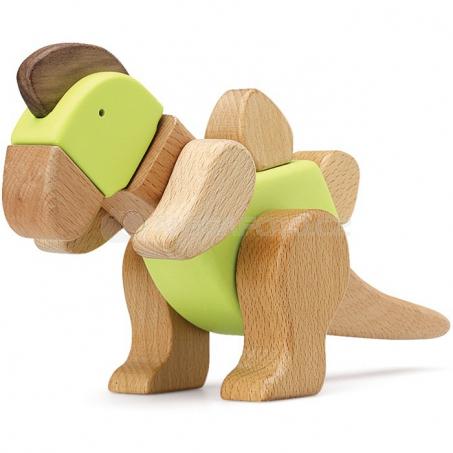 Dřevěná stavebnice Dinosaurus Tino