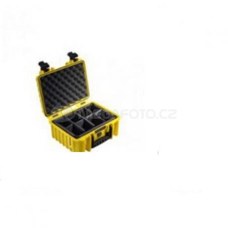 B&W International Outdoor Case type 3000 Foam žlutá [3000/Y/SI]