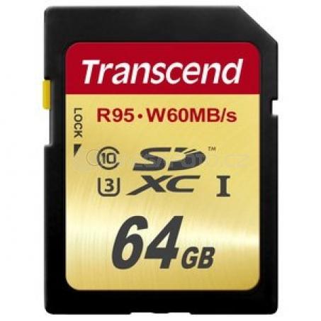Transcend SDXC Ultimate UHS-I 64 GB (TS64GSDU3)