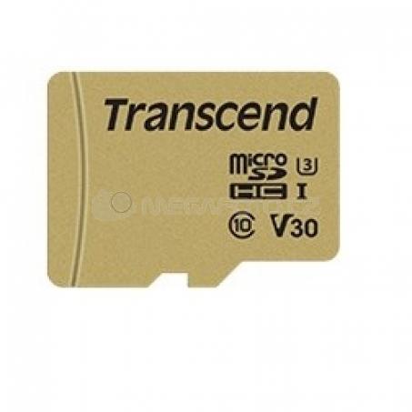 Transcend 500S microSDXC 64GB [TS64GUSD500S]