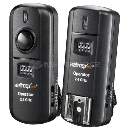 walimex pro Transmitter + Receiver Sony 2,4 GHz [19946]