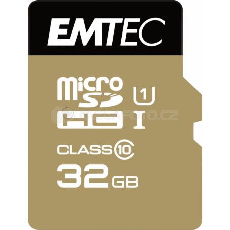 Emtec Elite Gold microSDHC 32 GB [ECMSDM32GHC10GP]