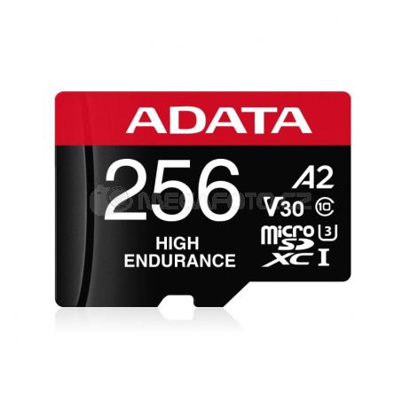 ADATA High Endurance microSDXC 256 GB [AUSDX256GUI3V30SHA2-RA1]