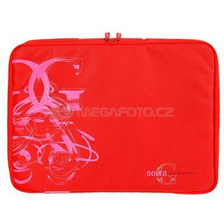 """Golla Laptop Sleeve Curl 16"""" red"""
