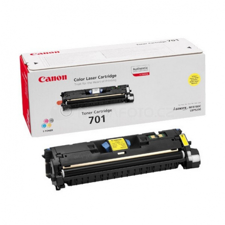 Canon 701 Y toner