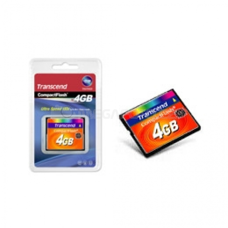 Transcend 133x CompactFlash 4 GB
