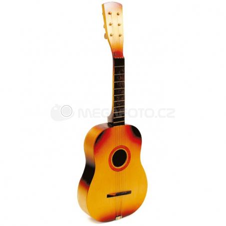 Kytara s kovovými strunami