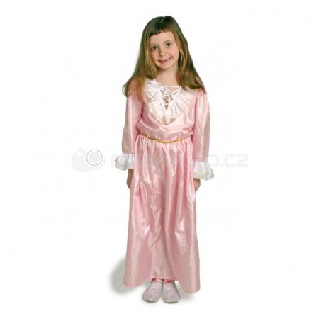 Šaty princezny růžové