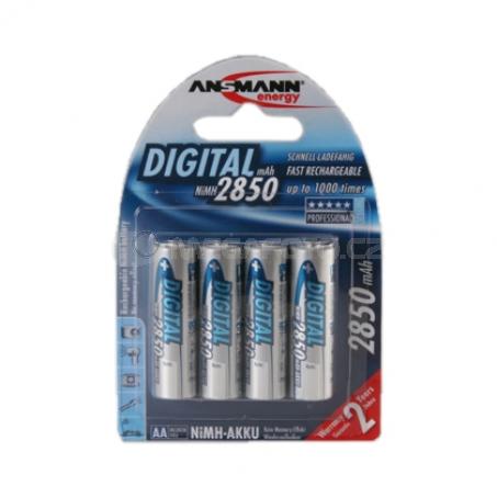 Ansmann NiMH Mignon 4x 2850 mAh Digital
