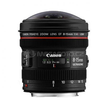 Canon EF 8-15/4L Fisheye USM