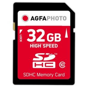 AgfaPhoto SDHC Card  32GB Class 10 / High Speed / MLC