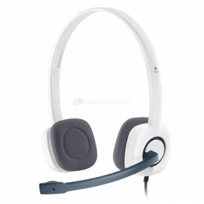 Logitech Stereo Headset H150 white
