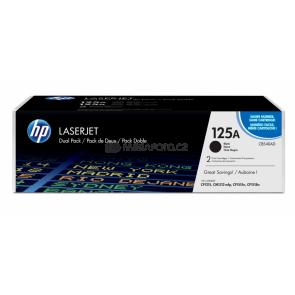 HP Toner CB540AD black No. 125A