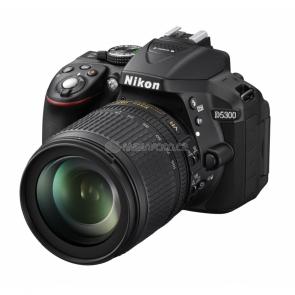 Nikon D5300 Kit black + AF-S DX 18-105 VR