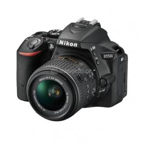 Nikon D5500 černá + 18-55 VR II