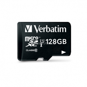 Verbatim microSDXC 128 GB (44085) + SD adapter