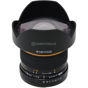 Samyang 14/2,8 ED AS IF UMC pro Canon EF