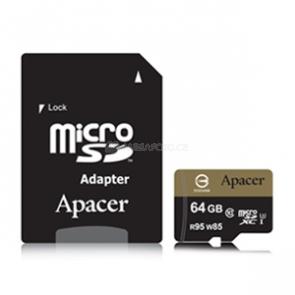 Apacer microSDXC 64 GB [AP64GMCSX10U1-R]