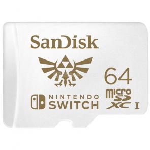SanDisk Nintendo Switch microSDXC 64 GB [SDSQXAT-064G-GNCZN]