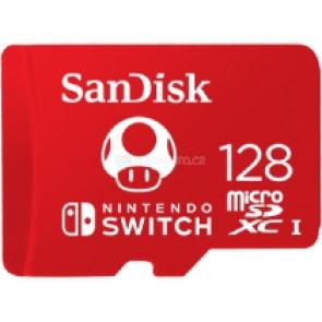 SanDisk Nintendo Switch microSDXC 128 GB [SDSQXAO-128G-GNCZN]