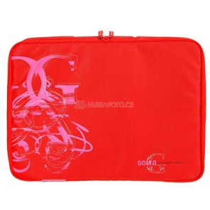 "Golla Laptop Sleeve Curl 16"" red"