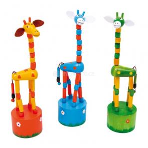 Mačkací figurky Žirafky (3 ks)