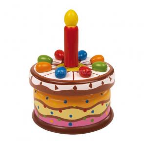 Hrající narozeninový dort