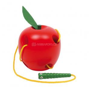 Provlékadlo - Jablko s červíkem