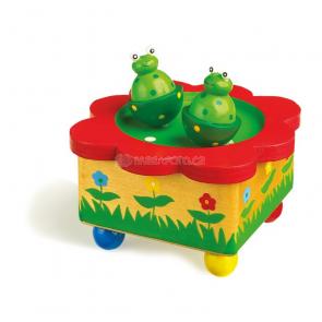 Hrající ukolébavka Žabky