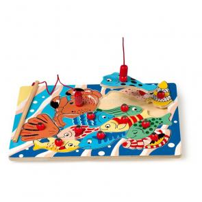 Magnetický rybolov Puzzle