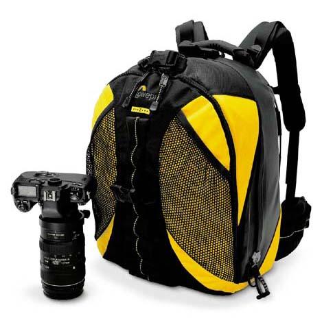 Lowepro DryZone 200 Fototrekker yellow/black