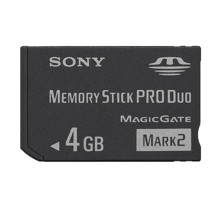 Sony Memory Stick Pro Duo Mark 2 4 GB