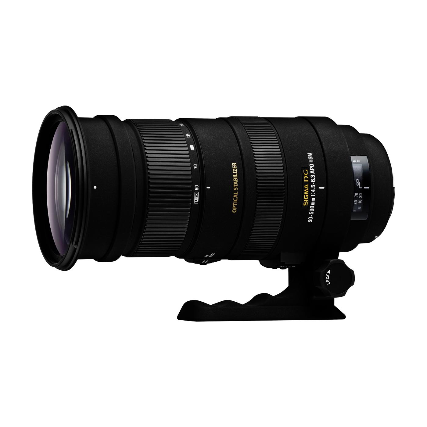 Sigma 50-500/4,5-6,3 APO DG HSM OS Nikon