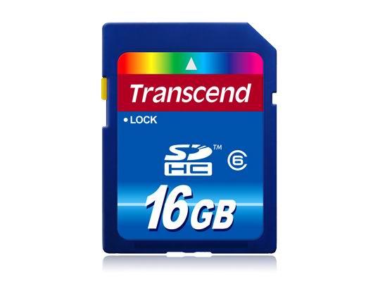 Transcend SDHC Premium 16 GB