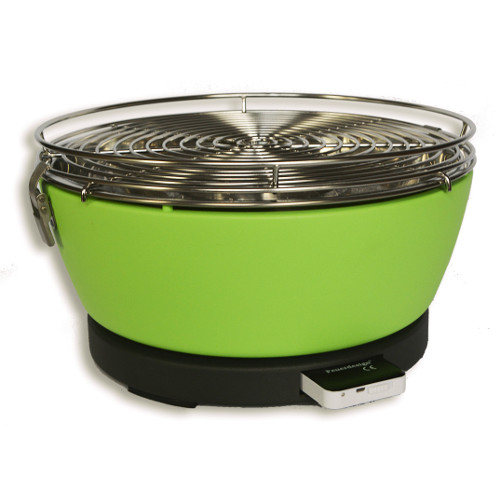 Feuerdesign Vesuvio zelený
