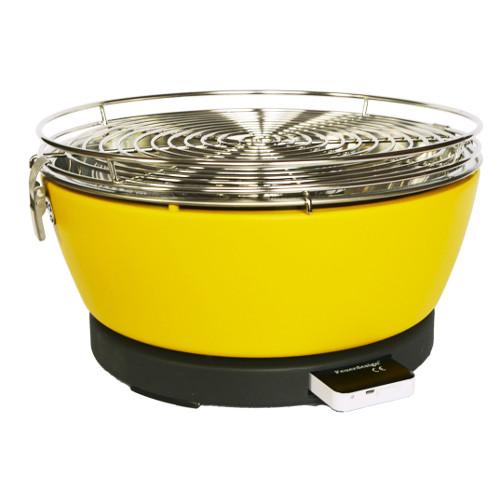 Feuerdesign Vesuvio žlutý